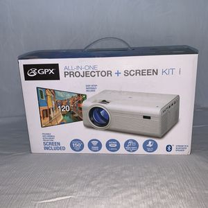 Projector & screen kit for Sale in Imperial Beach, CA