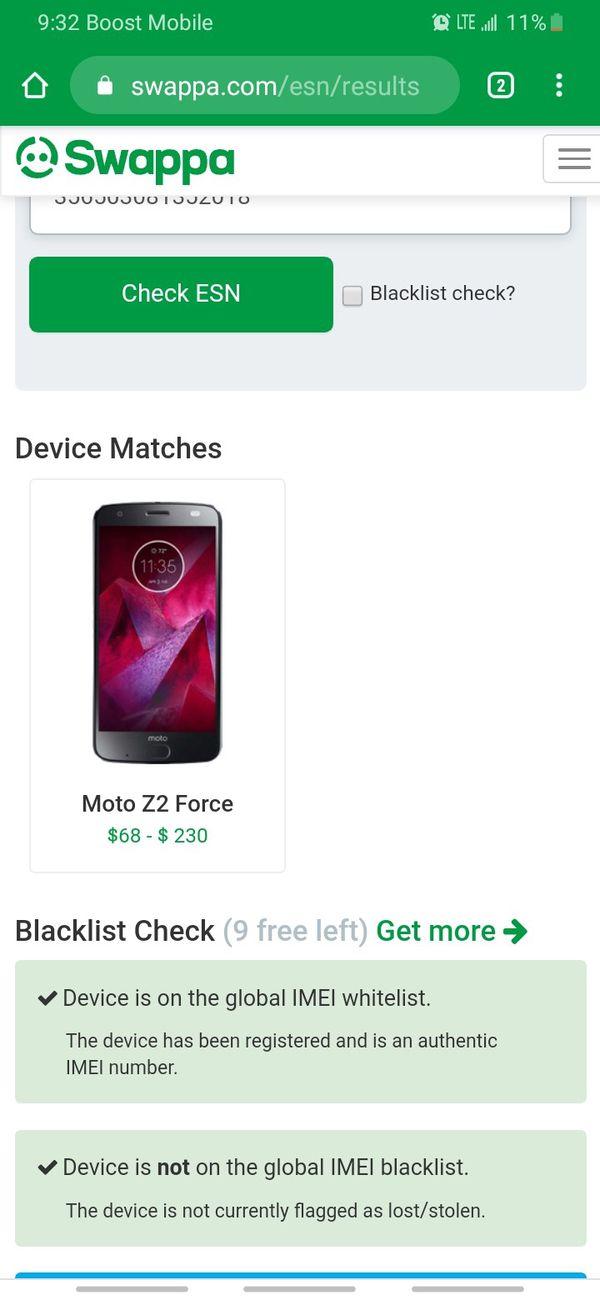Motorola Z2 FORCE 64gb