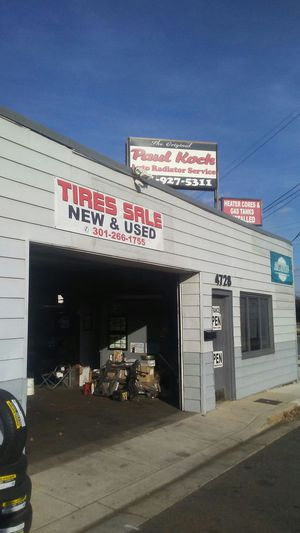 Tire sale new and used 4728 Rhode island ave for Sale in Hyattsville, MD