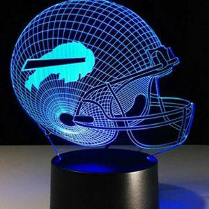 Buffalo Bills NFL Night Light Lamp for Sale in Evesham Township, NJ