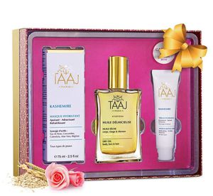 Gift Set of Kashemire Moisturizing Face Mask & Serum with Anti-Aging Hyaluronic Acid & Delicious Dry Oil for Body, Skin, Face & Hair for Sale in San Diego, CA