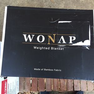 Wonap Weighted Blanket Grey (Never Been Out Of Box) for Sale in Rock Hill, SC