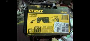 DCS380P1 dewalt ( sawsall) reciprocating saw brand new in box $150 for Sale in Brownstown Charter Township, MI