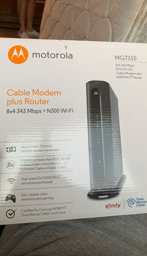 Motorola modem/router for Sale in Los Angeles, CA