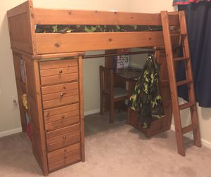 Twin Size Bunk Bed for Sale in Andover, KS