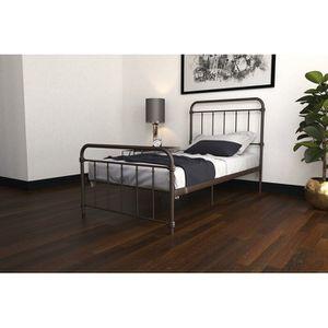 Twin metal bed frame white or bronze for Sale in The Bronx, NY