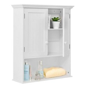 Wall Mount Bathroom Cabinet Storage Organizer Medicine Cabinet Kitchen White for Sale in New York, NY