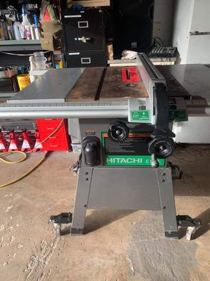 """Hitachi 10"""" table saw for Sale in Bartow, FL"""