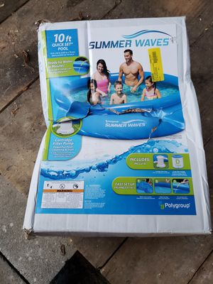 Summer waves swimming pool for Sale in Princeton, WV