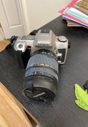 Minolta film camera for Sale in Gaithersburg, MD
