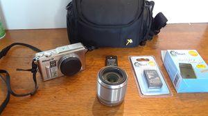 Nikon AW1 14.2Mp Digital Camera Silver W/Accessories for Sale in Old Mill Creek, IL