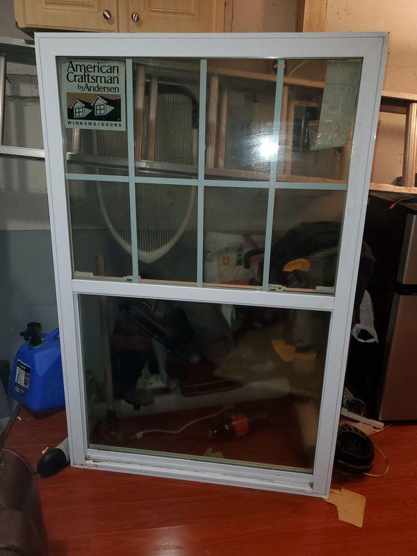 American craftsman window