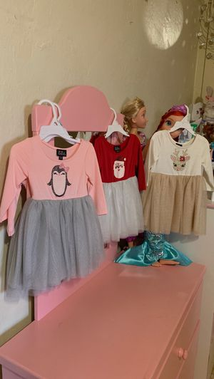 Holiday dresses sizes 2t and 3t for Sale in Los Angeles, CA