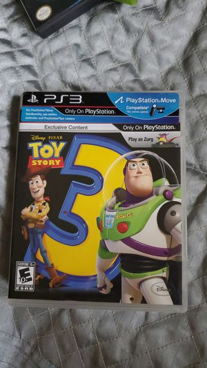 Toy story 3 ps3 for Sale in Baton Rouge, LA