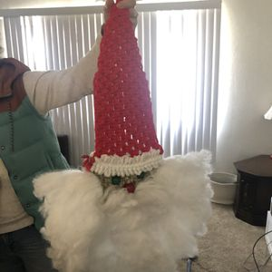 Macrame Santa Christmas Decorations for Sale in Los Angeles, CA
