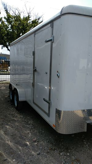 7x14 Tandem Cargo Trailer for Sale in Houston, TX