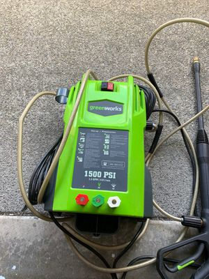 Greenworks pressure washer ***works great*** for Sale in Graham, WA
