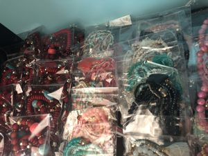 Plethora of assorted jewelry for women gifts, prizes etc.... for Sale in Anchorage, AK