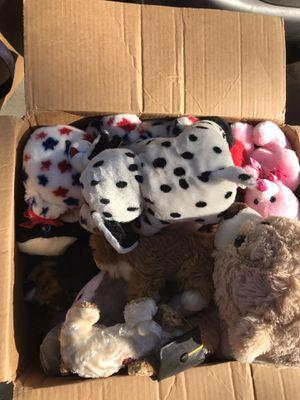 Big box of stuffed animals for Sale in Modesto, CA