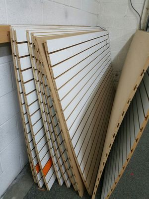 Slat wood panel 8' x 4' for Sale in Manassas, VA