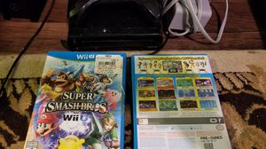 Wii U Console controller Mario Smash Mario 3D for Sale in Austin, TX