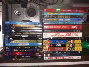 Blu-ray & DVD Bundle for Sale in Fontana, CA