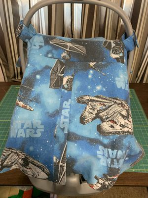 Star Wars Infant Car Seat Cover for Sale in Phoenix, AZ