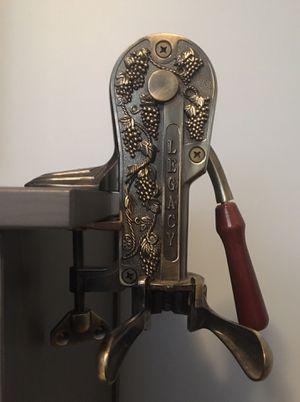 Antique Bronze Legacy Tabletop Commercial Wine Bottle Opener for Sale in Warwick, RI