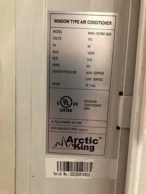 Arctic king window air conditioner for Sale in Beaverton, OR