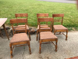 5 chairs for Sale in Kent, WA