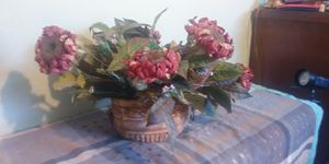 Large artificial flower in pot for Sale in Fresno, CA