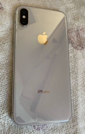 T-Mobile or Metro iPhone X 64gb for Sale in Dunedin, FL