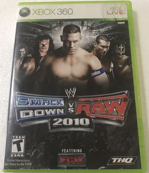 WWE: SmackDown Vs. Raw 2010 (Xbox 360) for Sale in Reading, PA