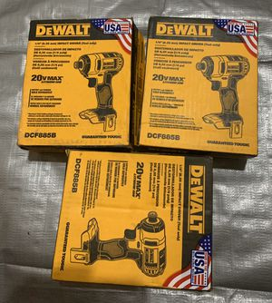 New dewalt impact for Sale in Cleveland, OH