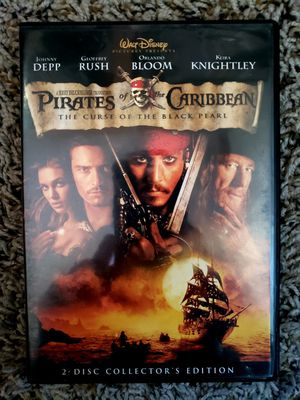 Pirates of the Caribbean DVD for Sale in Norwalk, CA