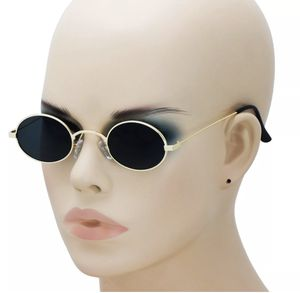 New Round Small Sunglasses With Black Mirror Lenses & Gold Frames for Sale in Las Vegas, NV