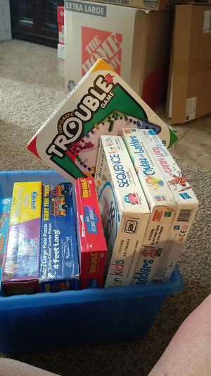 Board Games, Memory Matching Games and large floor Puzzles for ages 3 and up. for Sale in Denver, CO
