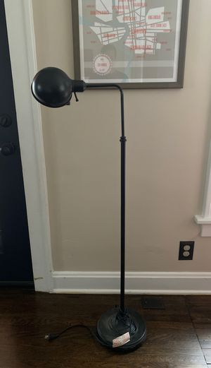 Floor lamp bronze finish for Sale in Columbus, OH