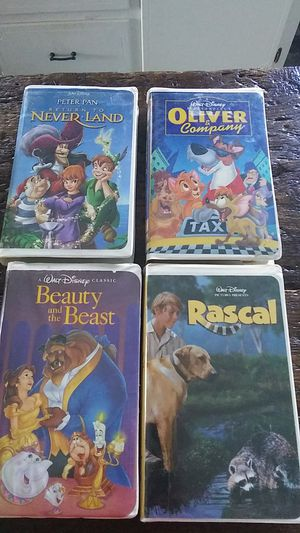 Disney vhs tapes for Sale in Sunbury, PA