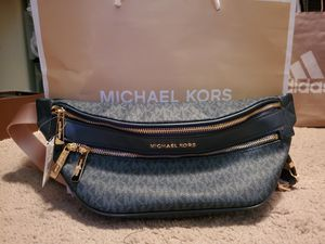 Brand New Michael Kors waist bag (Navy Blue) for Sale in Sacramento, CA