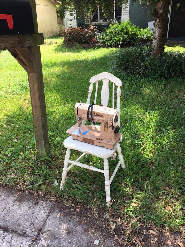 Sewing machine for scrap