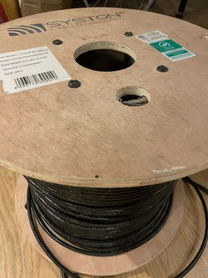 Brand: Syston Cable Technology Cat6 Bulk Cable 1000ft Direct Burial Gel Filled Waterproof, Pure Copper, Solid, Sun Resistant, Abrasion Resistant, Out for Sale in Payson, AZ