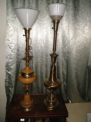 Vintage brass lamps for Sale in San Jose, CA