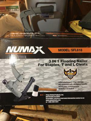 NuMax floor nailer for Sale in Camas, WA