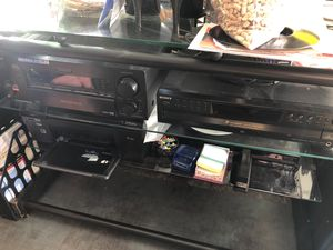 Sony 5 cd disc changer , Sony digital/ video control center and 5 speaker Bose with sub woofer. All wires included. $350 or neg!!! for Sale in Bronx, NY