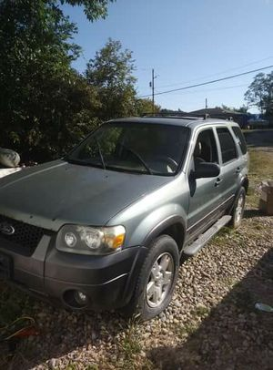 2006 ford escape xlt v6 for Sale in Glenford, OH