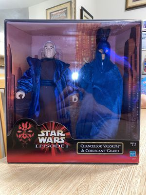 Chancellor Valorum & Coruscant Guard for Sale in Kissimmee, FL