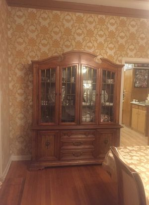 Break front with shelves and drawers for Sale in Dunmore, PA