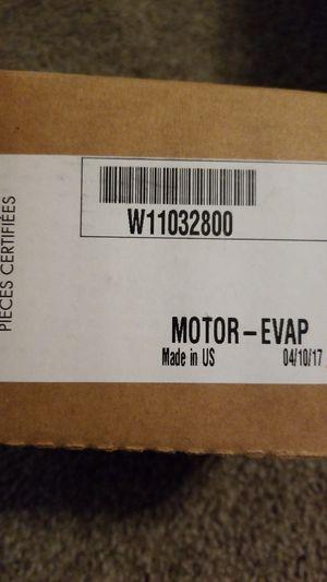 Whirlpool Evaporation Fan Motor W11032800 for Sale in Mesa, AZ