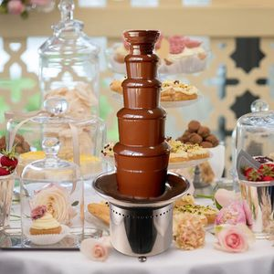 "Brand New 27"" Stainless Steel 5 Tier Commercial Banquet Wedding Party Chocolate Fountain for Sale in Los Angeles, CA"